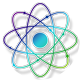Gradient atom icon