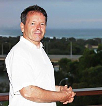 Denis Cooney overlooking Currumbin Beach